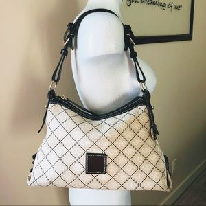Classic Signature Dooney & Bourke Hobo Bag
